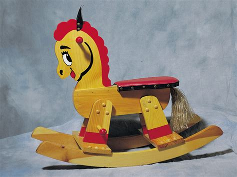 adorable rocking horse toy plan   house plans