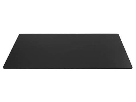 sous bureau original grand sous de bureau en cuir noir 80 cm par 40 cm