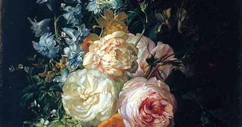Flower Still Life Rachel Ruysch One Of The Three Dutch