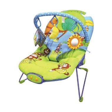 jual pumpee adjustable monkey and banana baby bouncer tempat duduk bayi harga