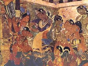 Indian Heritage - Painting - Ajanta Cave paintings ...