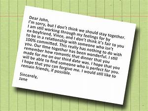 How to write a dear john letter 13 steps with pictures for Dear john letter template