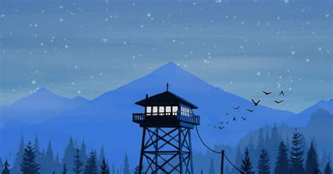 favorite wallpaper  firewatch wallpaper