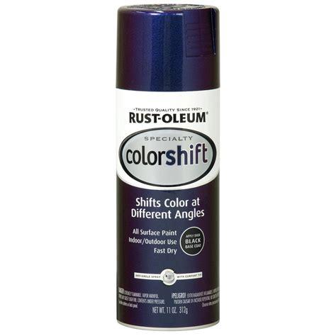 rust oleum specialty 11 oz galaxy blue color shift spray
