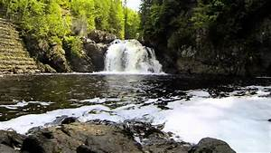 Charlo Falls  Restigouche County  New Brunswick  Canada