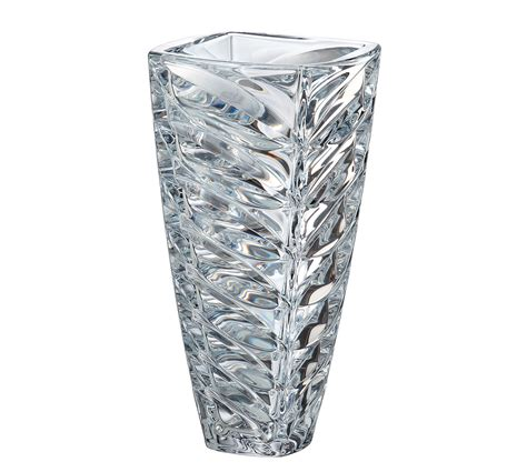 vasi in cristallo vaso facet in cristallo 30 5 cm vasi in cristallo di