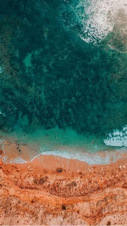 Wallpapers Iphone Pixel Google Drone Ocean 4k