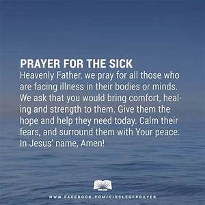 Prayer for the ... Sick Room Quotes