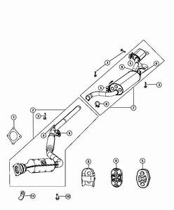 Chrysler Town  U0026 Country Used For  Muffler And Resonator  Exhaust  System  Ohv  Mopar  Engine