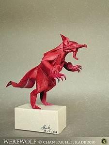 Kade Chan Origami Blog  U9999 U6e2f U647a U7d19 U5de5 U4f5c U5ba4   U65e5 U8a8c   Werewolf  U72fc U4eba