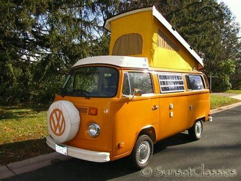 orange volkswagen van 41 best vw cer van westphalia images on pinterest vw