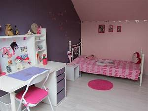 Chambre De Fille Rose Et Mauve