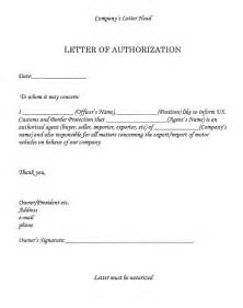 image result  authorization letter government sample