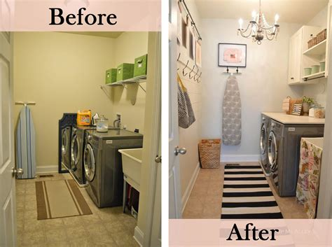 budget friendly laundry room makeover ideas