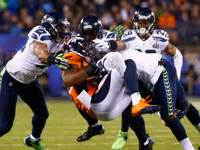 seattle seahawks walloped denver broncos  simple