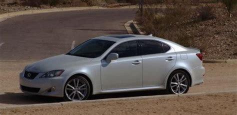Az 2007 Lexus Is250 Rwd 24 500 Mi Navigation Glacier