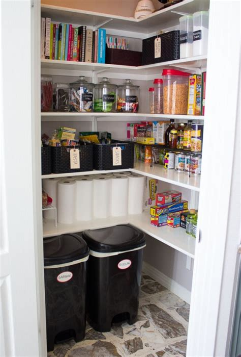 tips  organize  pantry digsdigs