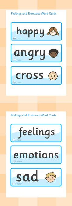 images  feelings topic  pinterest eyfs