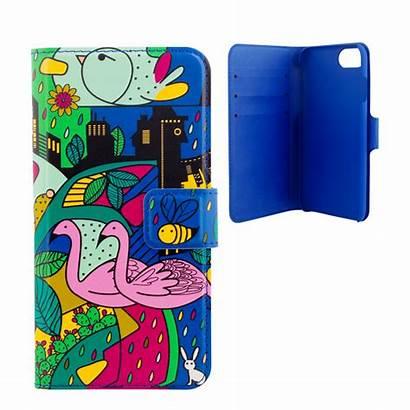6s Iwallet Estampe Flap Iphone Case Wallet