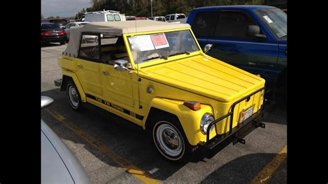 1974 Volkswagen Thing (type 181) Start Up, Quick Tour