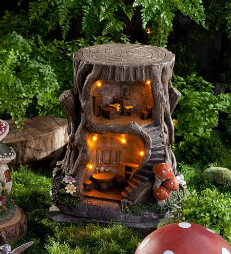 story lighted fairy house exclusives magiccabin