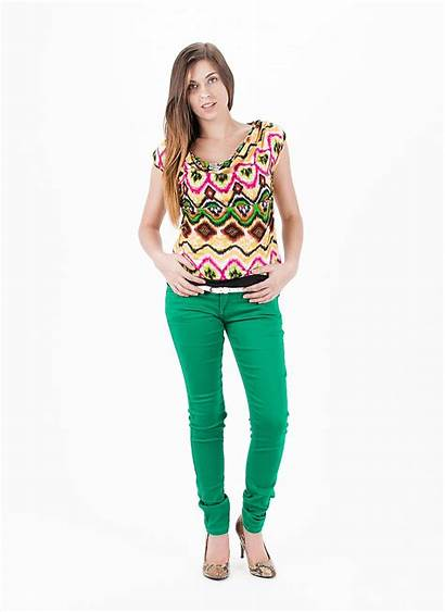 Outfit Jeans Colored Topsjeans