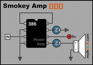 Basic 0 5w Power Amp  Doesn U0026 39 T Get Any Simpler Than This  Good Circuit For A Simple Cigar Box Amp