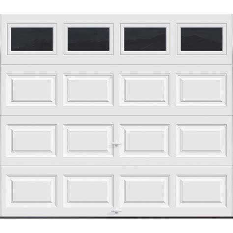 9 x 8 garage door clopay premium series 8 ft x 7 ft 12 9 r value