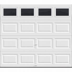 Clopay premium series 8 ft x 7 ft 129 r value for 9 ft x 7 ft garage door