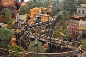 Big Thunder Mountain Railroad Model