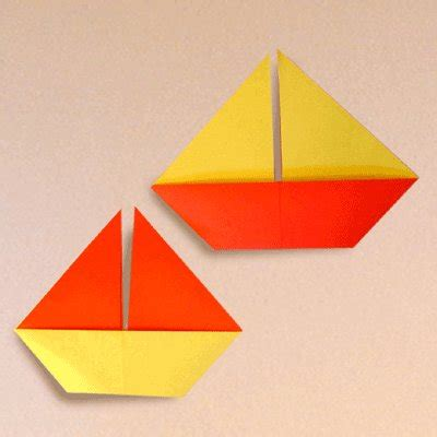 Origami Sailing Boat Instructions by Origami Sail Boats