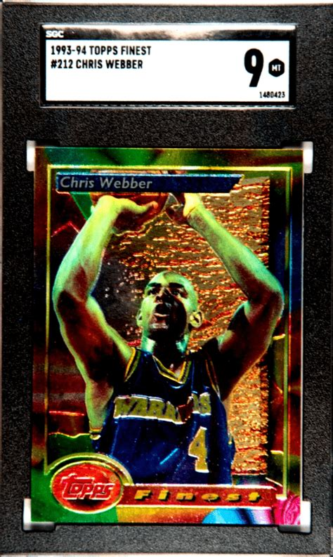 Check spelling or type a new query. Chris Webber Rookie Card - Top 3 Cards, Checklist, and Buyers Guide   Gold Card Auctions