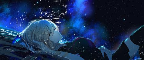 3440 X 1440 Anime Wallpaper - 3440x1440 anime lying butterfly
