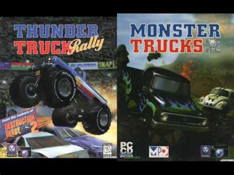 monster truck rally videos monster trucks thunder truck rally 1997 track03 youtube