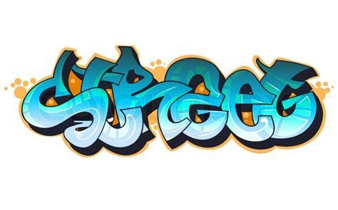 graffiti urban art stock vector colourbox