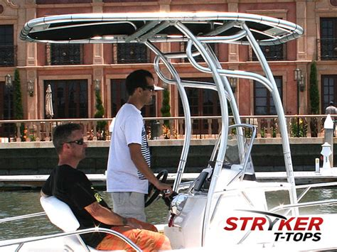 Bay Boat T Top Accessories by Installing T Top In Aluminum Boat The Hull Truth