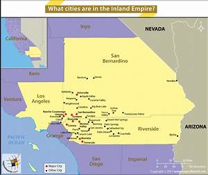 What cities are in the Inland Empire? - Answers