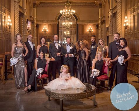 David Tutera And Joey Toth's Lavish Black Tie Wedding