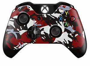 Covering Camouflage Rouge : xbox one controller gamepad skin cover wrap red black camouflage design ebay ~ Medecine-chirurgie-esthetiques.com Avis de Voitures