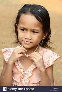 Cambodian village girl Stock Photo, Royalty Free Image ...