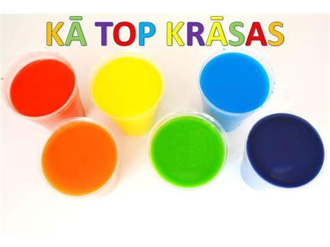 Colors for kids - Krāsas mazākajiem - YouTube