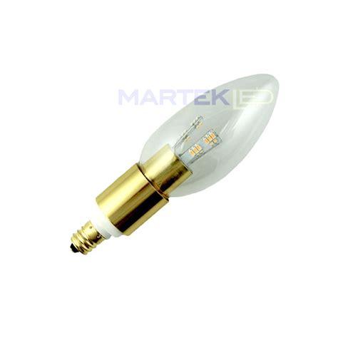 chandelier led light bulb torpedo brass