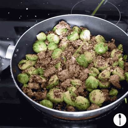 Spaghetti Squash Sausage Carbs Forget Brussels Fork