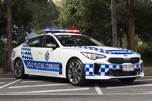 Kia Stinger Sworn In As Queensland Police Pursuit Car