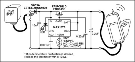 Single-Cell Li+ Cradle Charger With A Linear AC Adapter ...