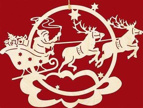 Taulin Fensterbild Weihnachten Rentierschlitten Mit