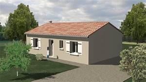 Plan Maison Pas Cher : construction 86 fr plan maison plain pied type 3 traditionnelle ~ Melissatoandfro.com Idées de Décoration