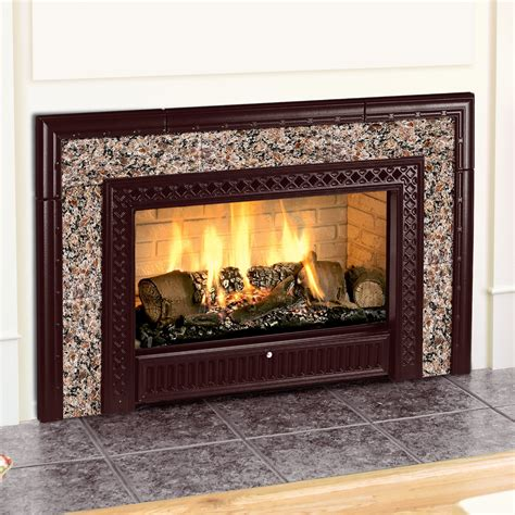 fireplace gas inserts pine lake stoves gas fireplace inserts