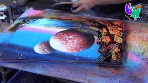 "Amazing Spray Painting !!! (barcelona 2015) ""la Rambla"
