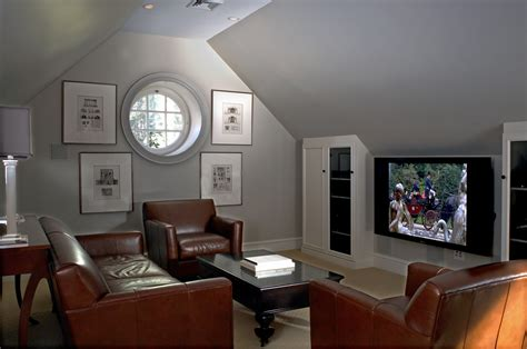 attic tv room media room